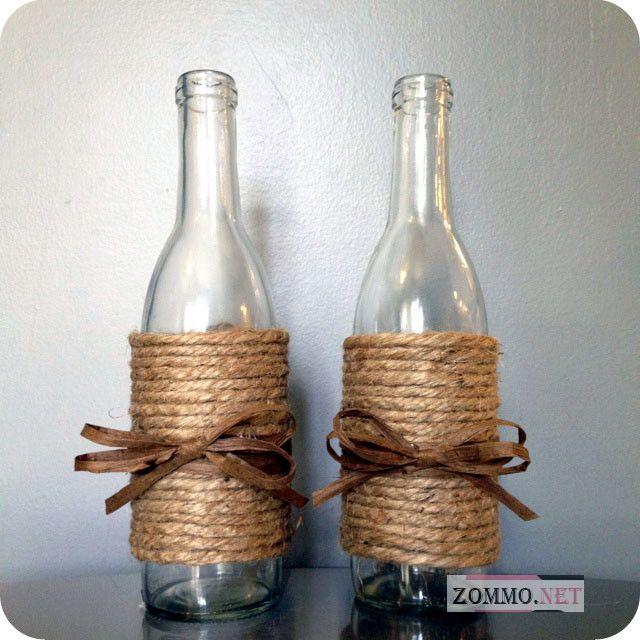 пустая бутылка вина