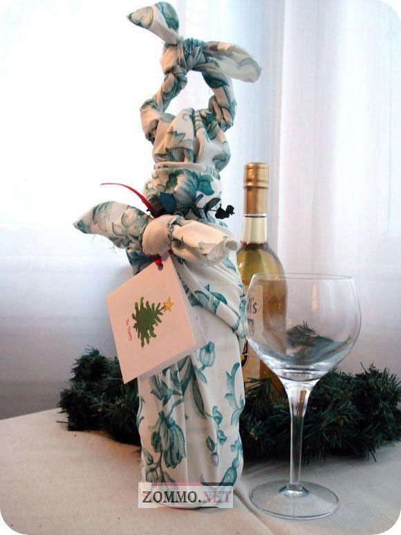 бутылка вина и бокал
