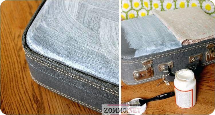 реставрация старого чемодана своими руками