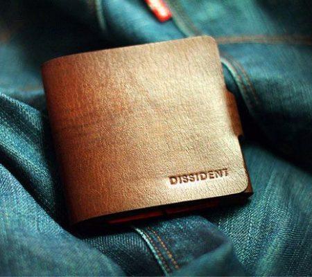 Мужской кошелек из кожи своими руками
