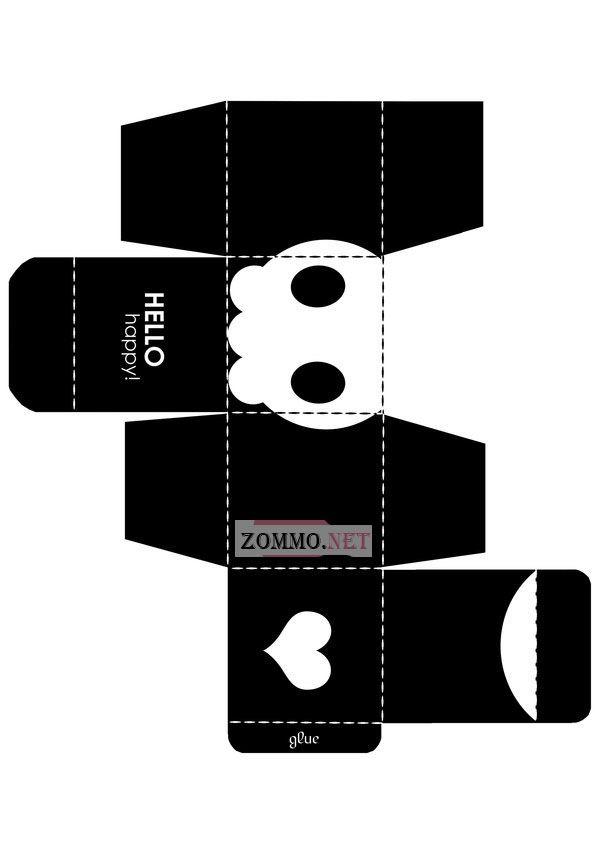 Коробочка Тим Бартон Style своими руками
