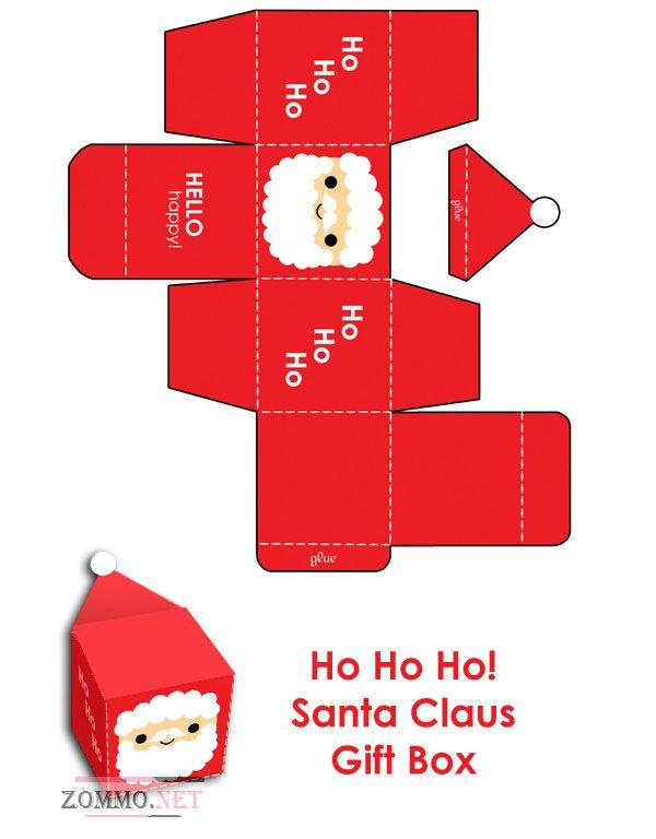 Коробочка Дед Мороз своими руками