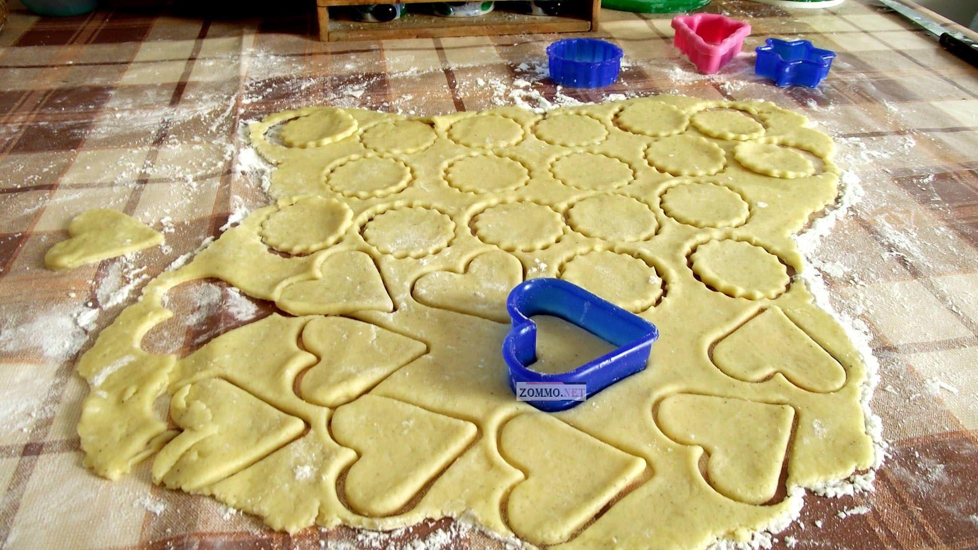 Цветные печенья рецепт пошагово