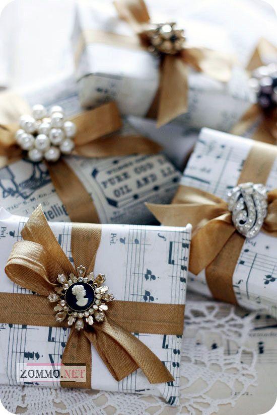 упаковка для сладких новогодних подарков