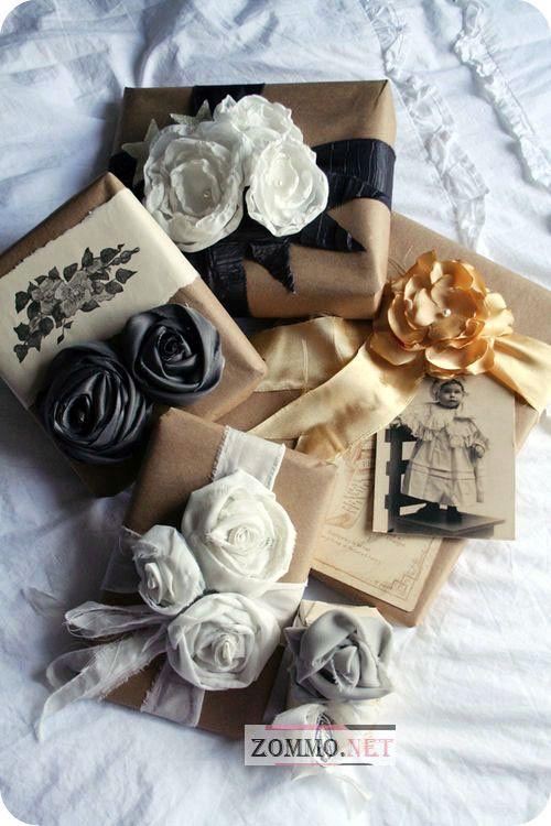 упаковка для мягкого подарка