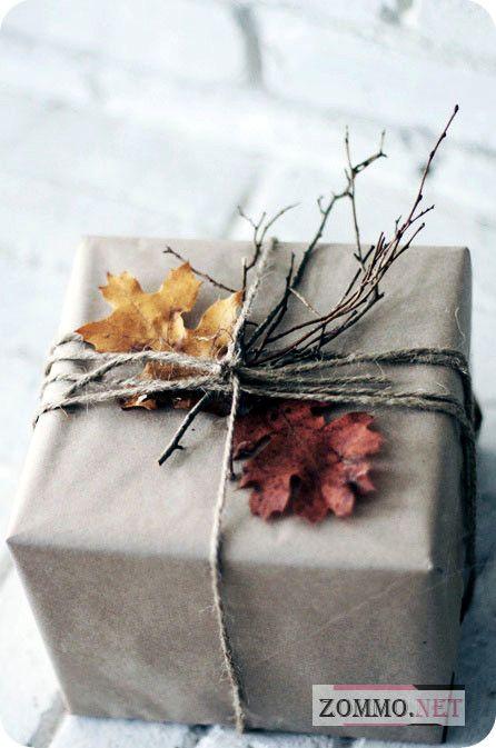 подарочная коробка из бумаги