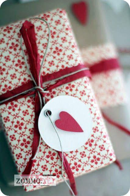 упаковка с сердцем