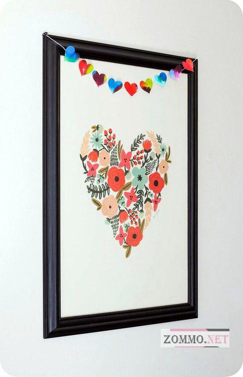 Картина на стену сердце
