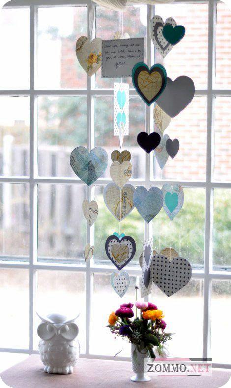 25 идей украшения квартиры на День святого Валентина