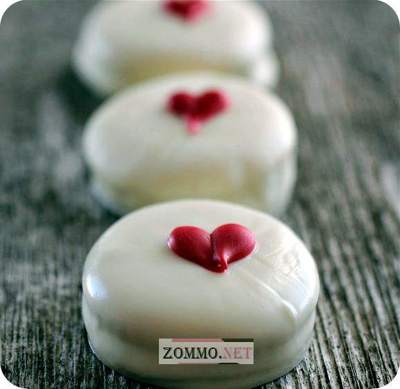 Печеньки с сердечками