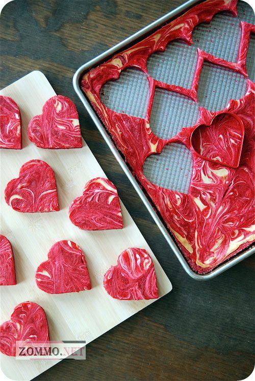 Печенье в сердечках