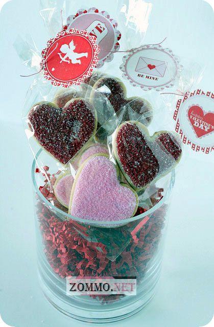 Красиво упакованные сладости
