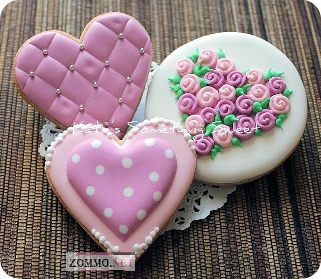 Сердечки на день святого валентина