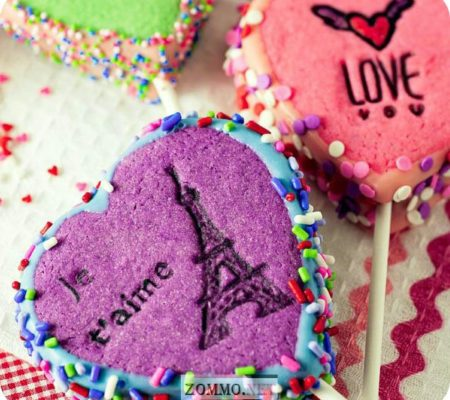 Сердце с эйфелевой башней