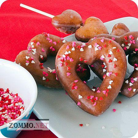 Сердцеобразные пончики