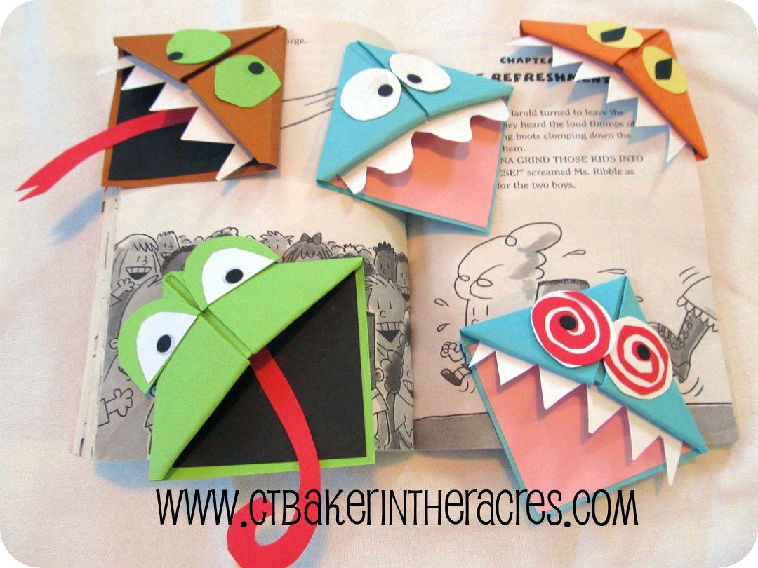 Оригами схемы монстров