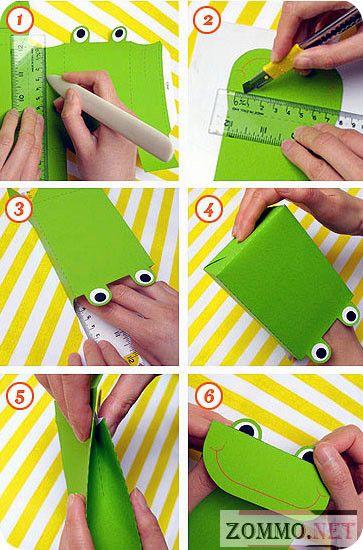 Как сделать простую коробочку из бумаги