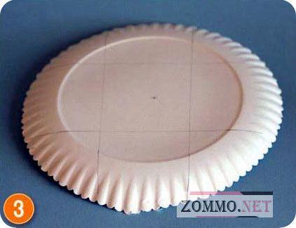 корзинка из одноразовой посуды