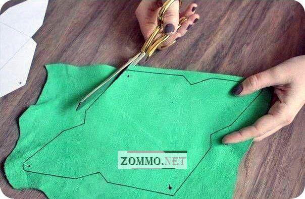 Как сделать чехол конверт для телефона своими руками