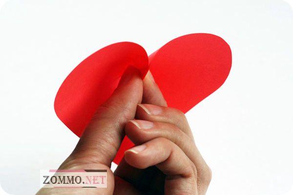Объемное сердце схема