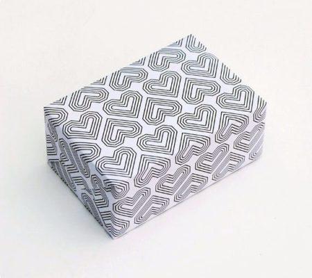 Шаблоны оберточной бумаги на день святого Валентина