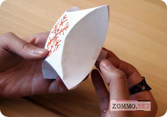 Шаблон подарочной упаковки