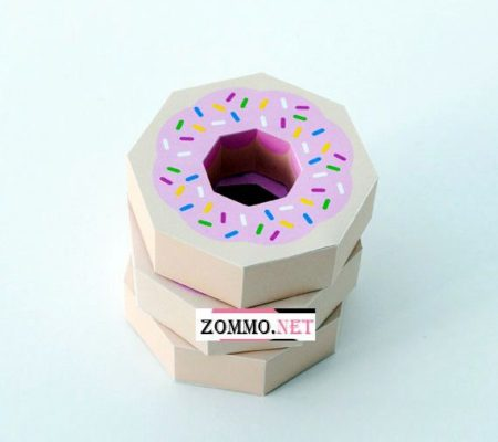 Упаковка для сладостей схема