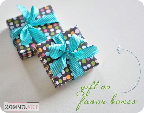 Коробочка для упаковки подарка любимому