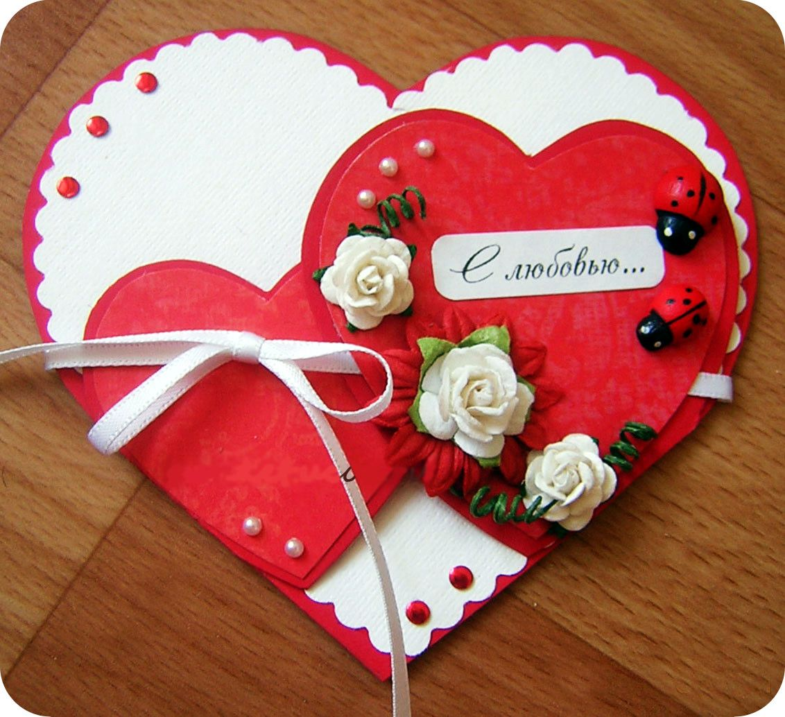 День св валентина валентинки своими руками
