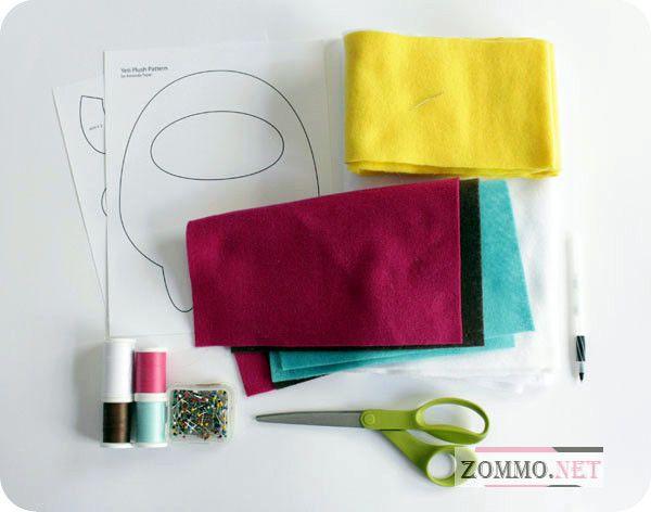 Материалы для создания мягкой игрушки