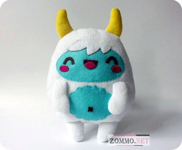 Мягкая игрушка Йети