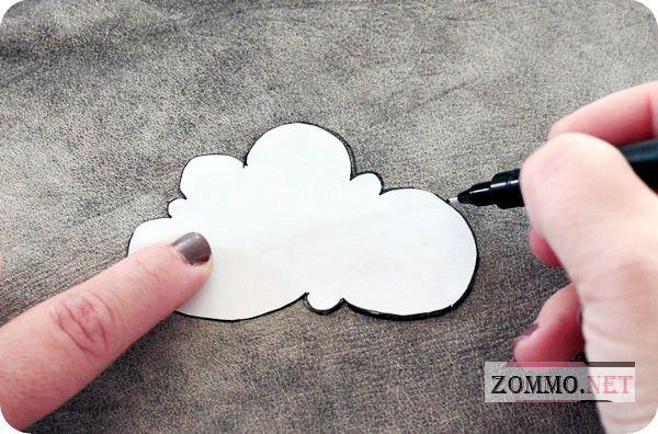 Рисуем облако на коже