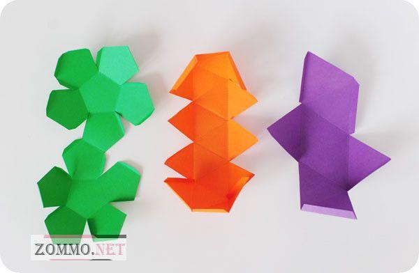 Бумажные коробочки схемы