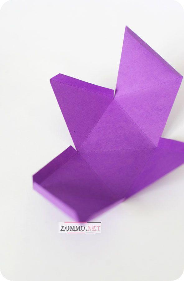 Как сделать необычную бумажную коробочку своими руками