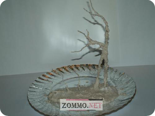 Делаем дерево из бисера