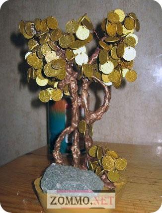 Денежное дерево на удачу