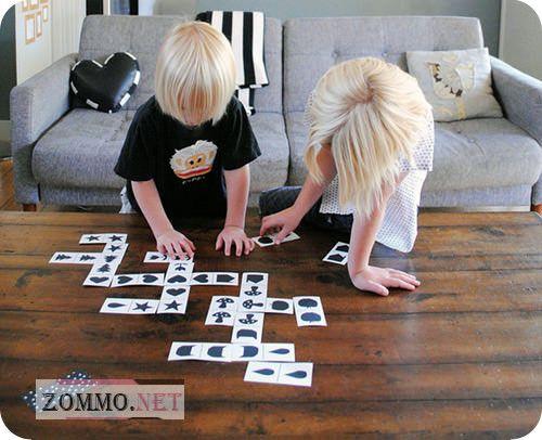 Детское домино правила игры