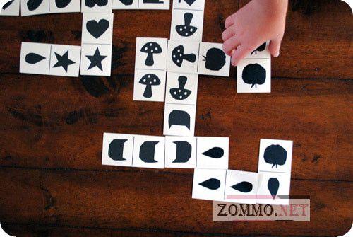 как играть в детское домино