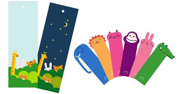 Книжные закладки для детей