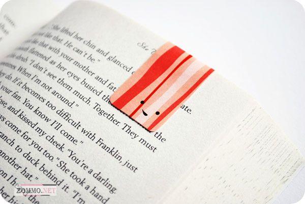 Закладка для книг на магнитах