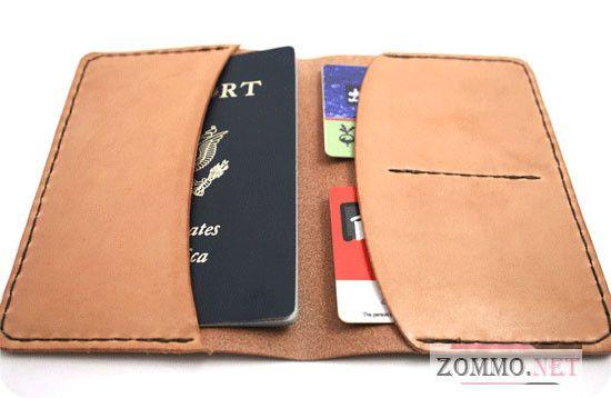 Кожаная обложка на паспорт своими руками