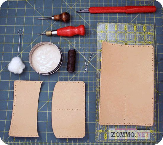 Материалы для создания обложки из кожи своими руками