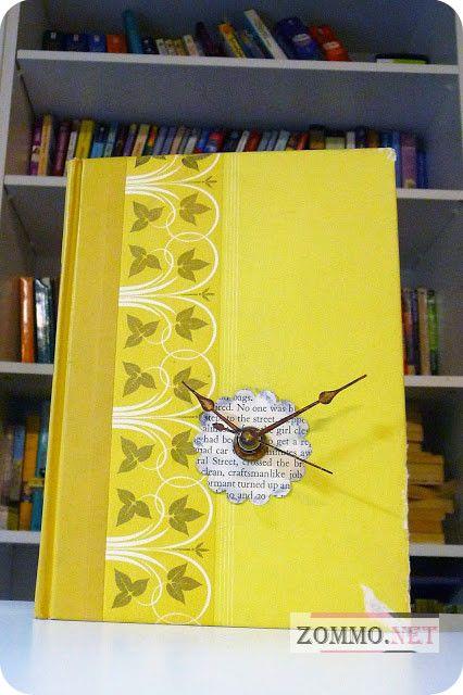 Часы в старой книге своими руками