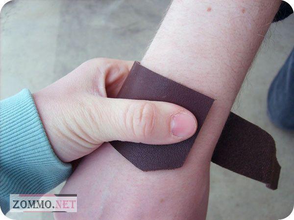 Снимаем мерку руки для браслета
