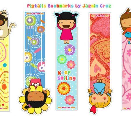 Закладки для книг для девочек своими руками