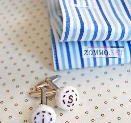 Мужские запонки для рубашки своими руками
