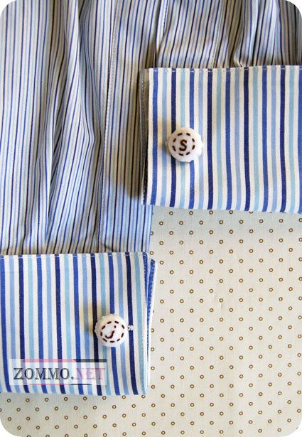 Мужские оригинальные запонки для рубашек(мастер класс)