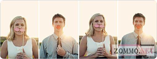 Как сделать усы и губы на палочке своими руками?