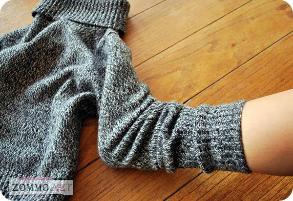 Определяем высоту носка