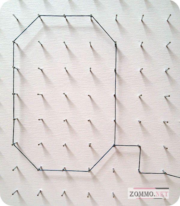 Плетение буквы